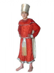 KING BALTHAZAR RED WISE MAN KIDS FANCY DRESS COSTUME